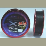 Plecionka Mistrall SHIRO X8 0,15mm 150m BLACK